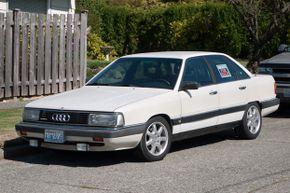 1986 Audi 5000 CS Quattro