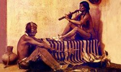 Native American flutes have just two chambers, which differs from other flutes.