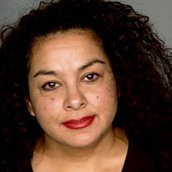 This is a mug shot of Anna Ayala, the woman who planted a human finger in a Wendy's chili. Learn more about her bizarre case in a few pages.