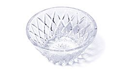 It's a gorgeous -- but regifted -- crystal bowl.