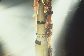 The Saturn V in 1972