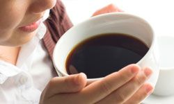 Coffee smells great, but if you have SAD, reach for herbal tea instead.
