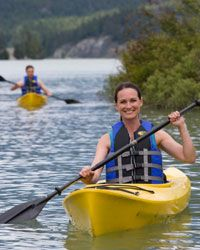Check out some wine-country wildlife with a relaxing kayak trip down the river.
