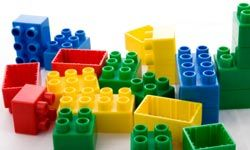 A pile of Lego blocks could provide your child an opportunity to let his or her creativity show itself.