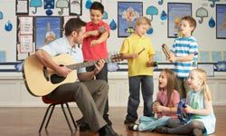 An afternoon music class is a great option for kids of all ages.