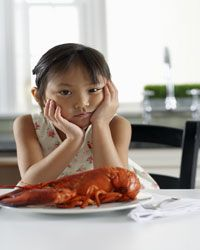 Consider the lobster before you eat it.