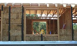 Home Design Image Gallery Looking for a unique method of construction for your home? A straw-bale house is an eco-friendly option. See more home design pictures.
