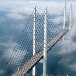 The Oresund Bridge may have been difficult to build, but the result of all that hard work was breathtakingly beautiful.