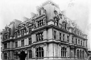 The Astor estate at 840 Fifth Ave. It was built between 1891 and 1896.