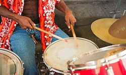Enjoy some Caribbean music.