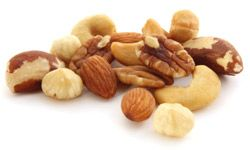 Nuts are an easy way to add protein to your breakfast.