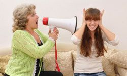 It often seems as if the more that parents yell at their kids, the more their kids tune them out.