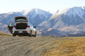 These drives are beautiful, but you may need to pull over to really soak in the views.