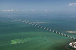The Seven MileBridge in the Florida Keys