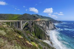 Drive through beautiful Big Sur.