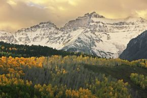 The Mount Sneffels Range is just one example of the majestic mountains you'll see.