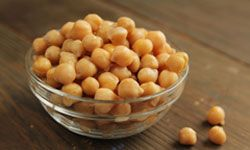 Garbanzo beans are also known as chick peas.