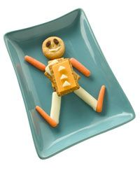 Cheese and crackers -- a classic your kid will love.