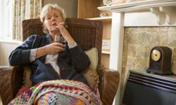 After you stop smoking, your house won't have a smoky odor.