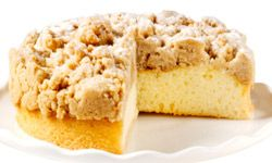 These miniature crumb cakes go great with afternoon tea or even with breakfast.