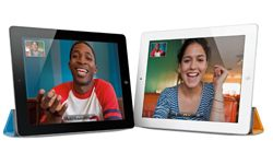Apple's iPad 2 added forward- and rear-facing cameras and improved processing, while reducing thickness and weight.