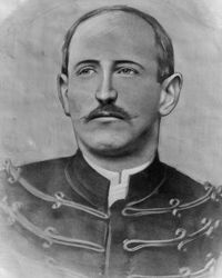 Alfred Dreyfus, the man at the center of the controversy, who denied having sold military secrets to the Germans.