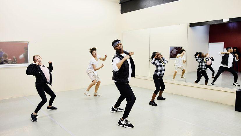 hip hop dance teacher