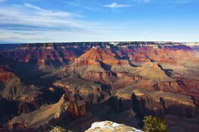 The Grand Canyon hosts more than 5 million visitors each year.