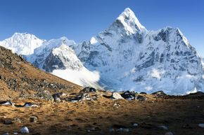 The view from the summit of Mount Everest is breathtaking in more ways than one.