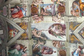 One of Michelangelo's greatest masterpieces.