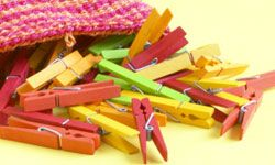 Who will be the clothespin queen at your bridal shower?