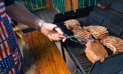 If you don't have a backyard, you won't be able to use a grill from your wedding registry.