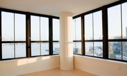 Low-E windows can help regulate the temperature inside a home.