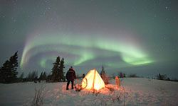 The best: seeing the aurora borealis. The worst: being cold.