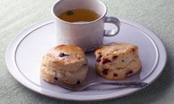 Tea and scones are perfect for a royal wedding sleepover.
