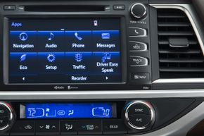 The 2014 Toyota Highlander with Easy Speak feature