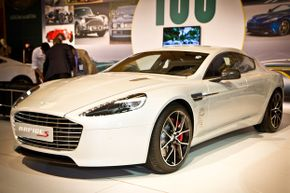The Aston Martin Rapide S has optional cooled seats.
