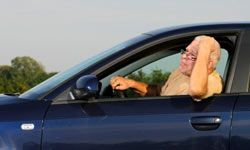 If you're an elderly driver, your insurance rate may be higher.