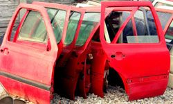 Sometimes, cars that receive salvage titles can only be sold for parts and not legally driven.
