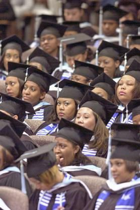 Spelman College in Atlanta, Ga., turns out hundreds of female graduates each year.