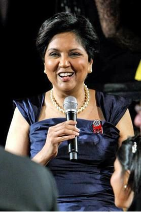 In 2008, Indra Nooyi was president and CEO of PepsiCo. -- and the highest paid female CEO in the United States.