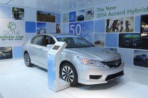 The 2014 Honda Accord Hybrid (and plug-in hybrid)