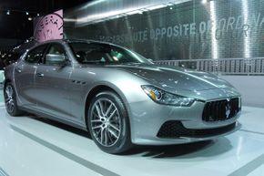 The 2014 Maserati Ghibli