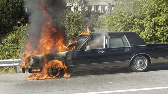 Top 10 Causes of Car Fires