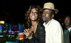 Whitney Houston and Bobby Brown are known for their partying, tumultuous relationship and frequent meltdowns. Here, they enjoy the VH1 Divas Duets: A Concert to Benefit the VH1 Save the Music Foundation - After Party at MGM Grand in Las Vegas, Nev.