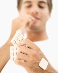 Go all out for the best results -- studies show that combining drugs with nicotine patches or gum can help you kick the habit quicker.