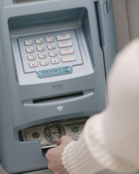 Having your bank close by may mean shelling out less for ATM fees.