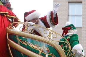 Santa Claus is a complex man -- but probably not three men.