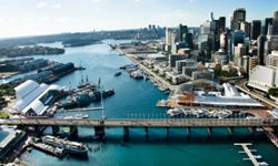 Take Sydney's Light Rail to get to Darling Harbour, where you're likely to find many places of interest.