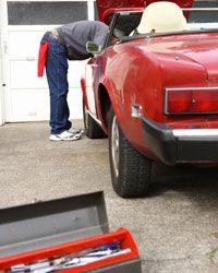 Finding the right tools for repairing an older car can sometimes be difficult.